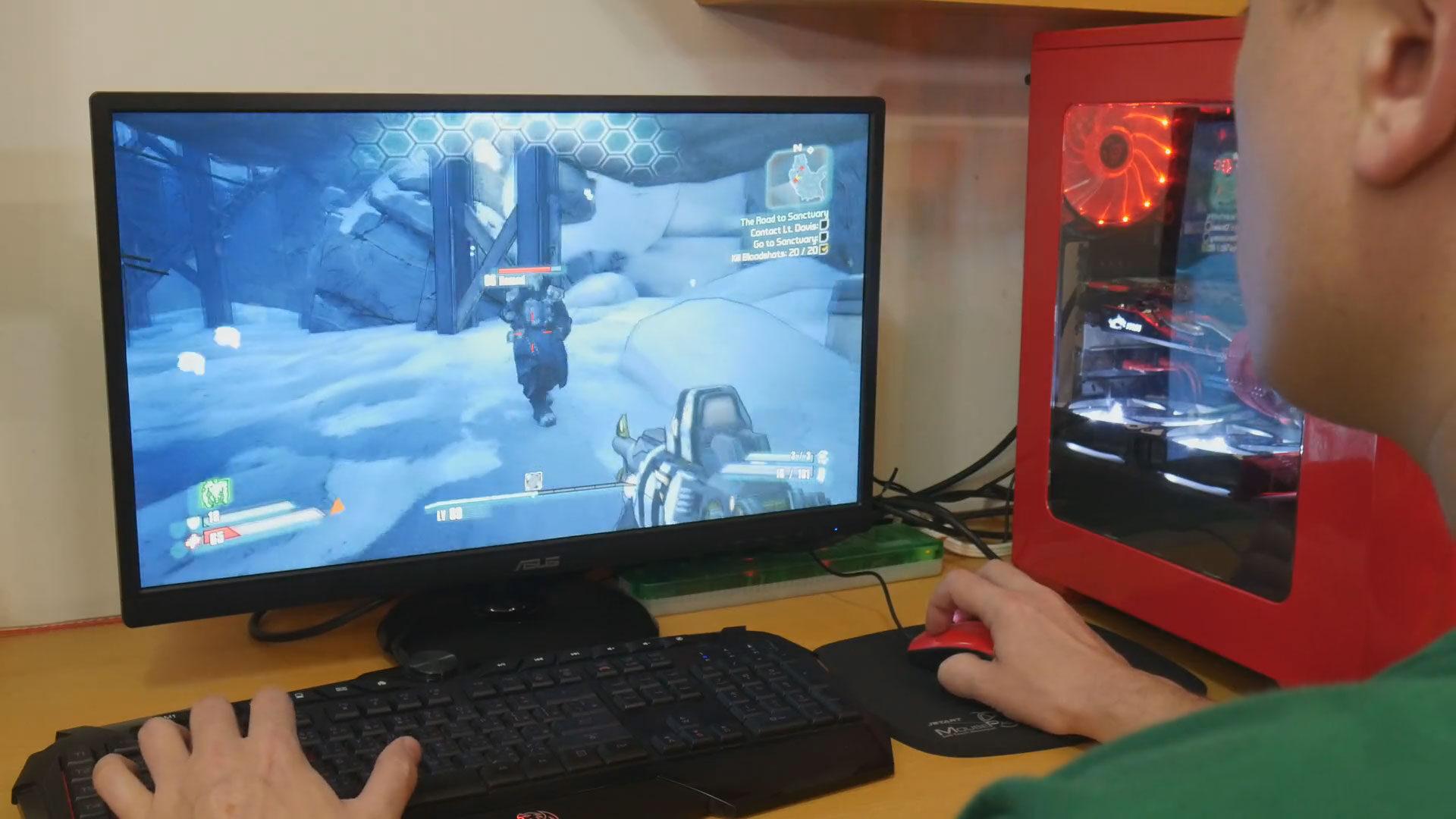 Asus VA249 monitor 7