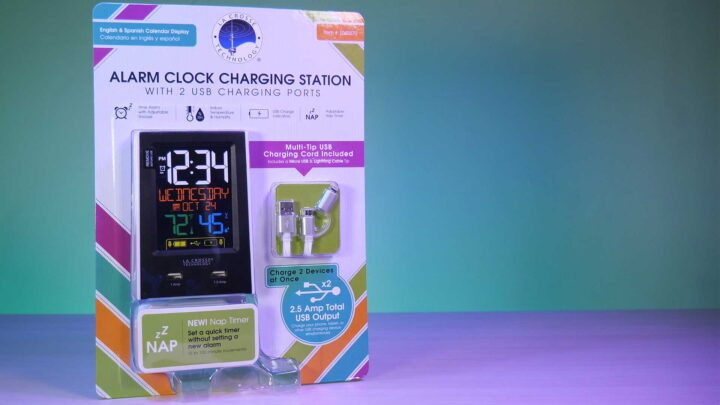 La Crosse Alarm Clock Charging Station from Costco Taiwan!