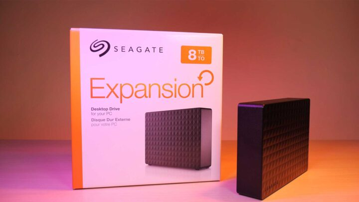 Power up with the huge Seagate Expansion 8TB External HDD