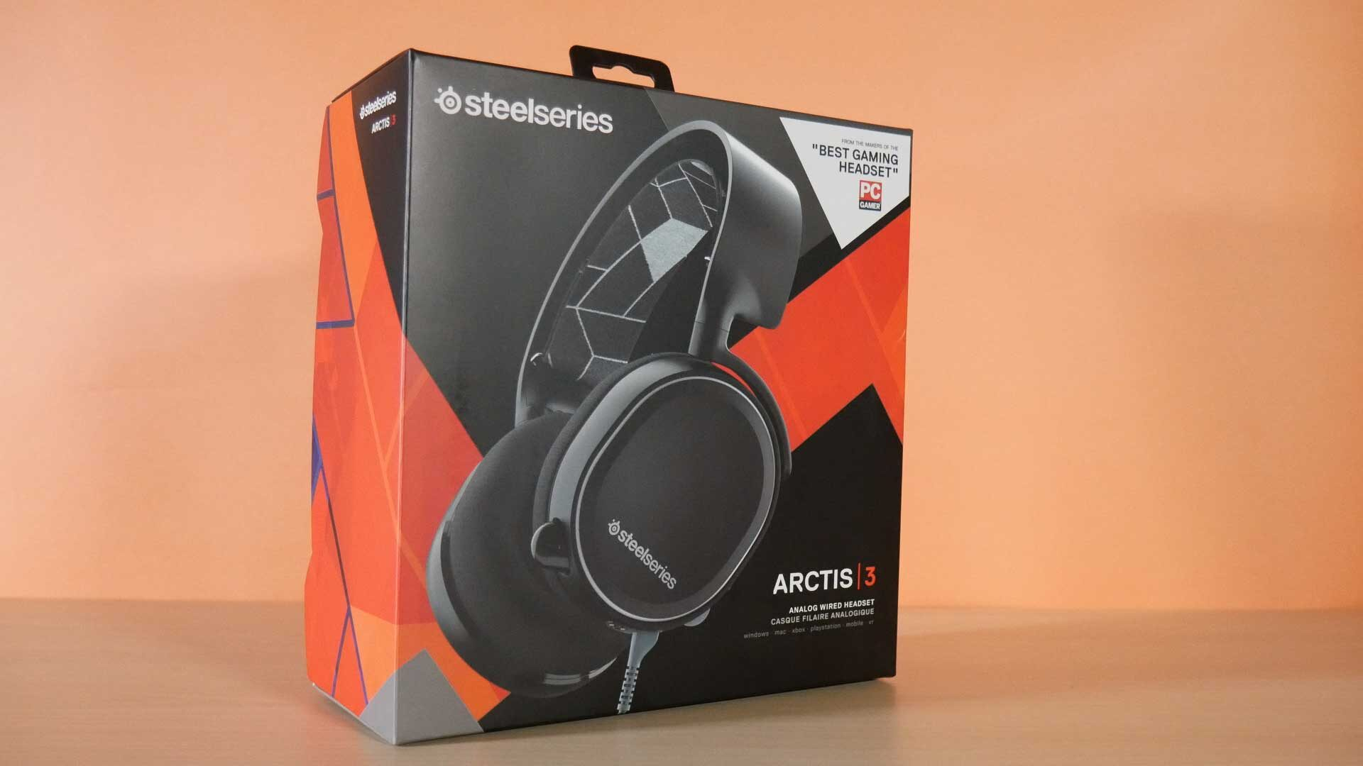 Steelseries Arctis 3 headset- proprietary connector, too quiet, just...okay. 1