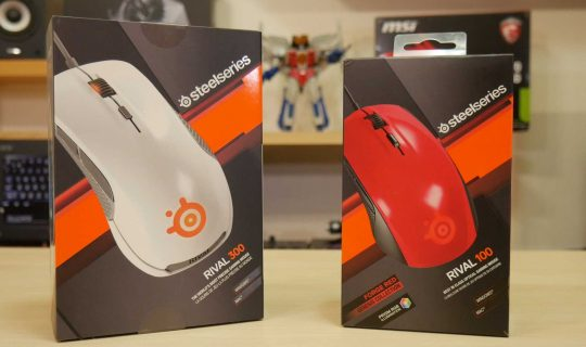 Steelseries Rival 100 Rival 300 w0